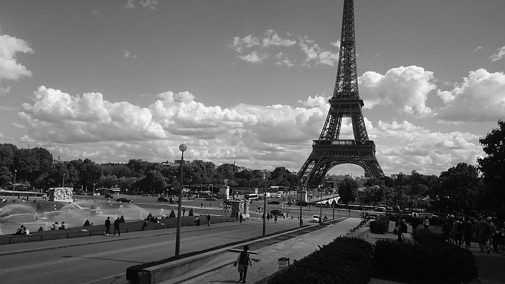 Paris, ganz grau